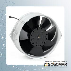 Ventilador de parede para armário ventilando de 172x150mm com conector de terminal