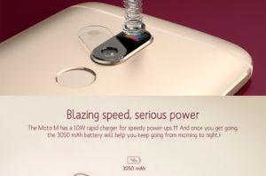 De originele Slimme Telefoon van de Ingebouwde programmatuur van Motorol Moto M Xt1662 Globale