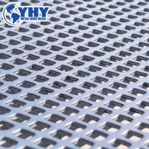 Anping六角形装飾的かフィルターのためのアルミニウムによって拡大される穴があいたスクリーンの網