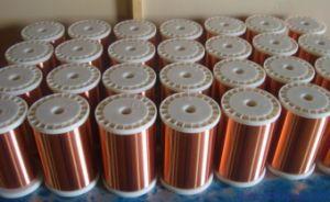 Collegare di alluminio placcato di rame smaltato 0.75mm del magnete