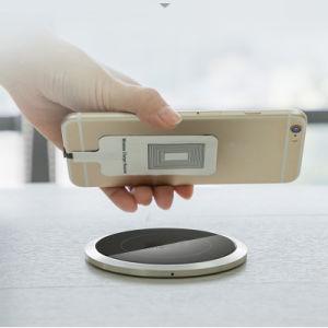 Espejo cargador inalámbrico Teléfono Inalámbrico de Qi Pad y soporte de carga 7,5 W para el iPhone X/8/8 Plus y 10W para Samsung Galaxy S9/S9 Plus/Nota 8/S8/S8 Plus Cable rápido