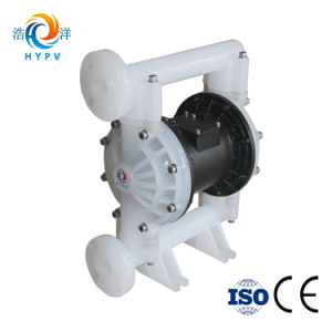 Hy PP 산업 액체 낭비 펌프 또는 공기에 의하여 운영하는 두 배 격막 압축 공기를 넣은 드럼 펌프