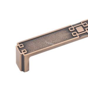 La mode des meubles de la poignée du matériel de cuisine en alliage de zinc au Cabinet pour tirer