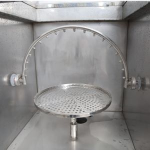 Os testes de precipitação de proteção IP programáveis de resistência à Água em Spray chuva câmara de ensaio