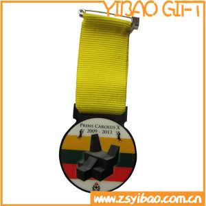 Medaglia su ordinazione del metallo di sport di alta qualità all'ingrosso con la sagola