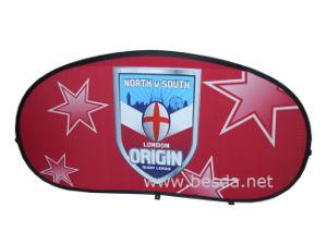 Bandiera doppia personalizzata dei lati di pubblicità esterna