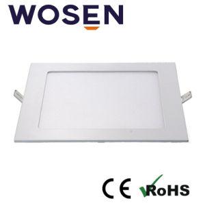 Alta eficiencia de la luz de panel LED 15W con Ce aprobada