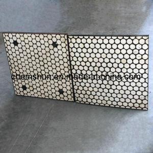 Les chemises d'usure en caoutchouc composite en céramique comme doublure de protection et la chemise