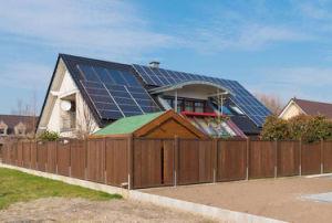 5KW na grelha com Kits de Sistema de Energia Solar Residencial