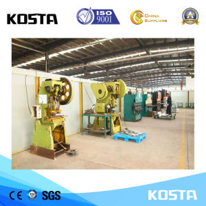 최신 판매 500kVA는 Doosan 발전기를 가진 침묵하는 유형 디젤 엔진 Genset를 연다