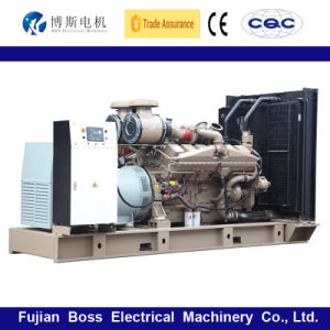 50Hz 112KW 140kVA insonorisées Water-Cooling silencieux alimenté par le moteur Cummins Groupe électrogène Diesel Groupe électrogène Diesel