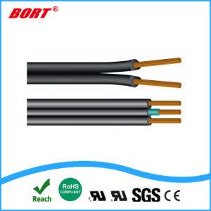 Núcleo de cobre com isolamento de PVC Entrelaçando Ecrã bainha de PVC (RVVP fio flexível)