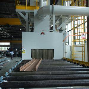 갱도 & 롤러 컨베이어 유형 H 광속 강철 지상 처리 탄 폭파 기계 건설장비