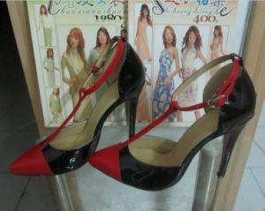 Las nuevas ventas de convergencia señaló zapatos de tacón alto damas