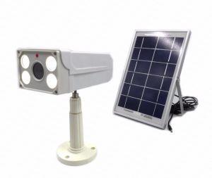 Capteur de lumière LED d'avertissement de l'Orateur Dummy Fausse caméra de vidéosurveillance de sécurité