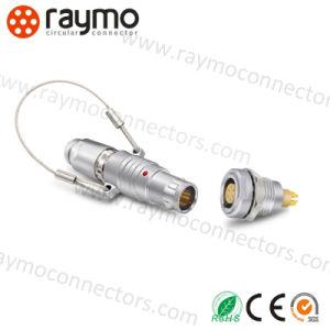 中国の製造者の高品質のコネクター6 Pinを受けとっている互換性のあるLemos Fngの金属の円のプッシュプル自己