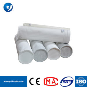 China-Kopftext-Filter-Polyester, Nomex, Acryl, PPS, PTFE, P84, Fiberglas-Filtertüte für industrielles Staub-Sammler-System