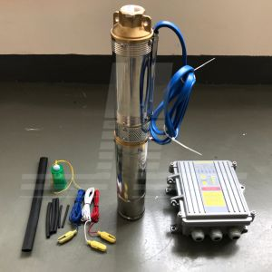 300W-1500W 태양 강화된 무브러시 DC 펌프, 스테인리스 깊은 우물 잠수정 펌프