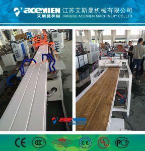 Panel del techo de PVC de Plástico / Perfil Lo que hace la máquina de extrusión