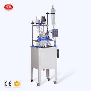 Heizungs-Umhang-Glasreaktor für Labor