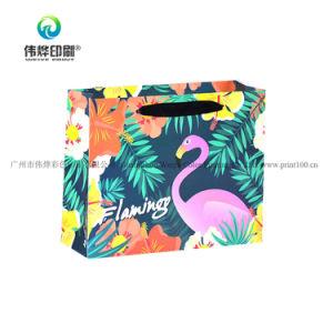 Impression couleur prix bon marché de l'impression de l'emballage cadeau sac de papier