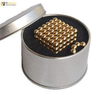 Embalaje personalizado de 5 mm de neodimio de alta calidad de bolas magnéticas