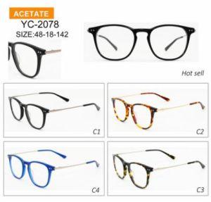 Het Italiaanse Frame Van uitstekende kwaliteit van China van de Glazen van de Acetaat van het Ontwerp Optische