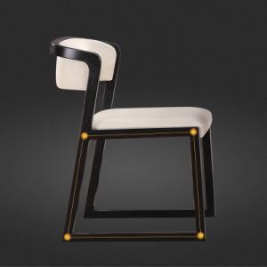 Casa de madera muebles de madera nórdica Restaurante sillas para Comedor