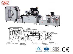 Rullo automatico per rotolare la stampatrice della matrice per serigrafia per il contrassegno, autoadesivo, comitato della targhetta, FPC, IMD, Iml
