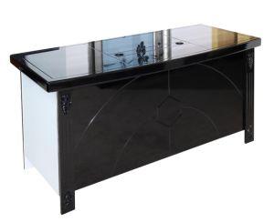 Mesa de oficina escritorio ejecutivo jefe de diseño moderno y nuevo Ejecutivo de la tabla la tabla de mobiliario de oficina 2019 Precios baratos de venta caliente