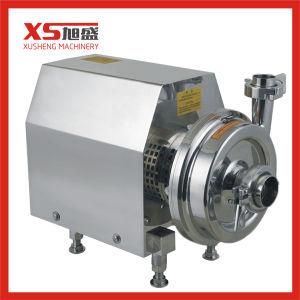 En acier inoxydable de haute performance de la pompe centrifuge verticale sanitaires pour les aliments, boissons, le traitement du vin