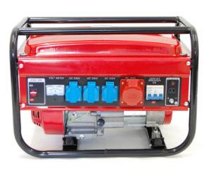 Accueil l'utilisation Lanceur à rappel de l'alimentation 220V 2kw 6.5HP trois phase générateur à essence