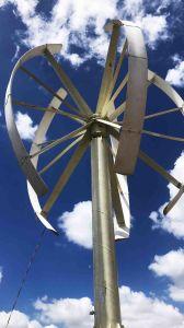 10kw de verticale Turbogenerator van de Wind van de As voor Huis die met 380V Output 220V/voor Facultatief gebruiken