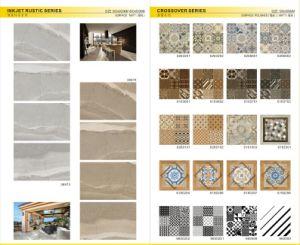 Modern Style 600X600 (11607)の磨かれたPorcealin Marble Tile
