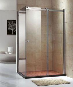 カスタマイズされたOEMのステンレス鋼のガラス簡単なシャワー・カーテンのシャワー室