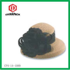 Cappello della spiaggia della paglia delle donne (CPA-14-1099)