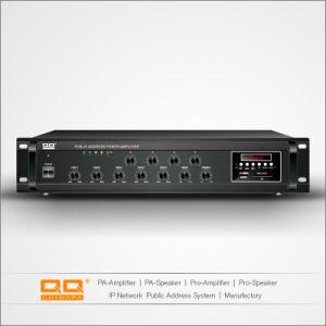 Audio Amplificador de zonificación PA-480 fabricado en China con Ce 40-1000W