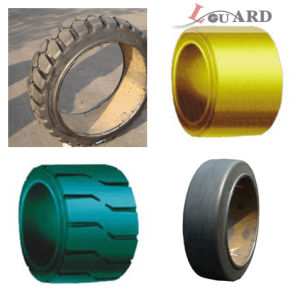 2015 China Press on Solid Tire 15*5*10 1/4 15*6*10 1/4 15*8*11 1/4 15 1/2 *5*10 with High Quality and Cheap Price