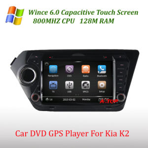 KIA K2를 위한 차 DVD Wince 6.0 GPS Player