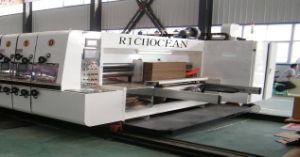 Gewölbte Karton-Vorstand Flexo Drucken-Maschine