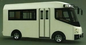 La ciudad, de pasajeros, de 20 asientos, los pequeños, Mini, Shool Bus eléctrico