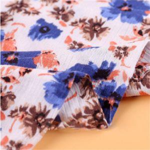 Tessuto antistatico con il reticolo di fiore per l'indumento delle donne