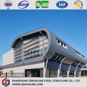 El marco de metal Edificio comercial de la estructura de acero