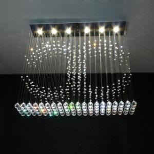 Toques duplos criativa decoração Cristal lustre a Lâmpada (GD-8027-6)