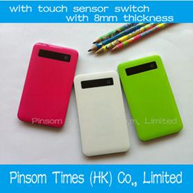 La Banca sottile eccellente di potere di Pinsom con lo schermo del sensore di tocco per iPad/iPhone/Samsung/Nokia