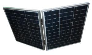 Camping Painel Solar Dobrável para 140 W de dobragem de trailer com sistema de 12 V