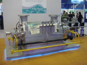 250 grados con el motor de la bomba de alimentación de calderas