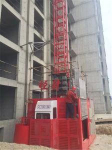 2t Material Construcción ascensor elevador para mercancías por Hsjj