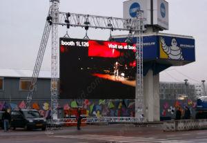 640x960mm P10 pleine couleur LED de plein air se déplaçant signer