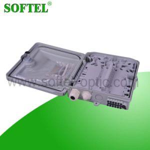 Caja de bornes FTTH 12 núcleos con PLC
